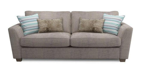 Sophia fabric sofa set Fabric Sofas Sofa Set Online Bangalore Mocha 3 Seater