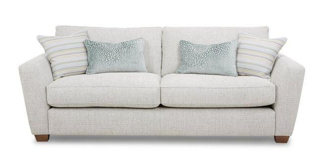 Sophia fabric sofa set Fabric Sofas Sofa Set Online Bangalore Pearl 3 Seater
