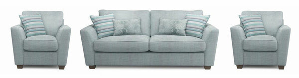Sophia fabric sofa set Fabric Sofas Sofa Set Online Bangalore Sky 3+1+1
