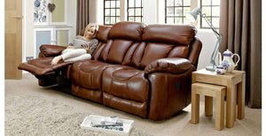 Supreme manual recliner Leather Recliner Sofa Set Online Bangalore