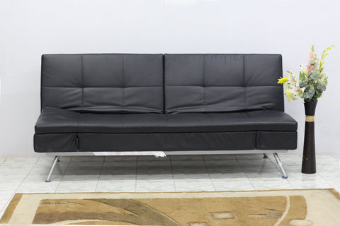 Sweden 3 Seater sofa cum bed Fabric Sofa cum Bed Sofa Set Online Bangalore Black