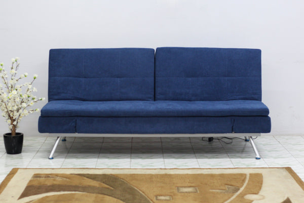 Sweden 3 Seater sofa cum bed Fabric Sofa cum Bed Sofa Set Online Bangalore Blue