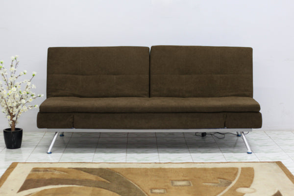 Sweden 3 Seater sofa cum bed Fabric Sofa cum Bed Sofa Set Online Bangalore lbrown
