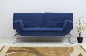 Sweden-Blue Sofacum bed Yellowliving Online Bangalore