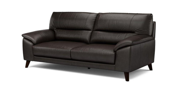 Three seater genuine leather sofa Genuine Leather Sofa Sofa Set Online Bangalore