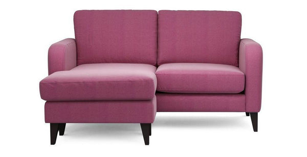 Truth Large Lounger Fabric Sofas Sofa Set Online Bangalore L shape Pink