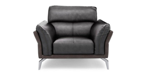 Valdez art leather sofa Leather Sofa Sofa Set Online Bangalore Black 1 Seater