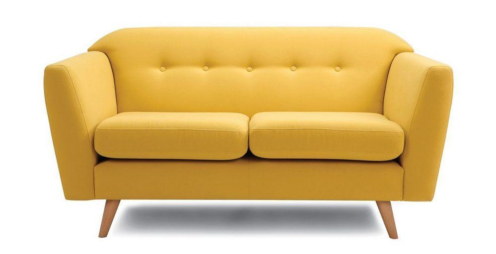 Waverly fabric sofa set Fabric Sofas Sofa Set Online Bangalore Yellow 3 Seater
