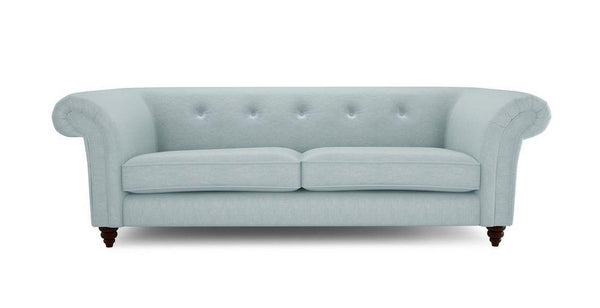 Winchester 3 sofa Fabric Sofas Sofa Set Online Bangalore Sky Blue