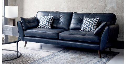 Zinc leather leather sofa set Leather Sofa Sofa Set Online Bangalore