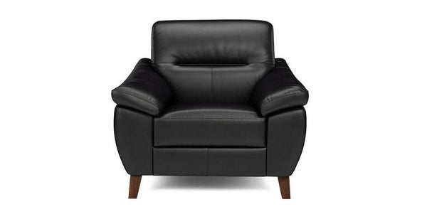 Zyan genuine leather sofa set Genuine Leather Sofa Sofa Set Online Bangalore Black 1 Seater