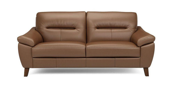Zyan genuine leather sofa set Genuine Leather Sofa Sofa Set Online Bangalore LMocha 3 Seater