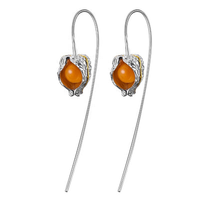 Physalis Fruits Earrings -  A.Brask smykker