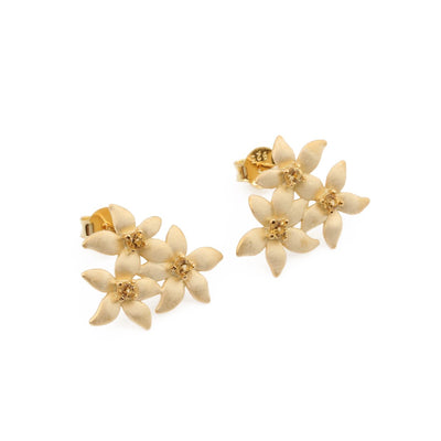 Lemon Flower Studs