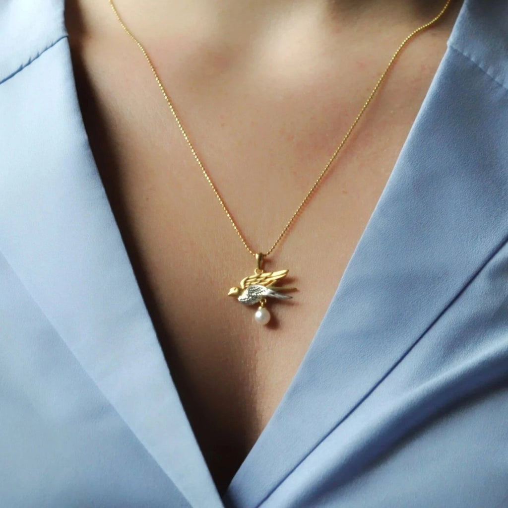 Swallow Pendant/Necklace