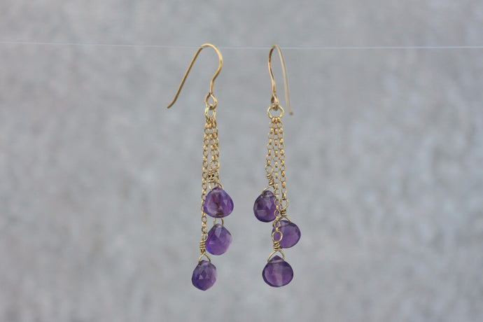 Amethyst_dangle_drop_earrings