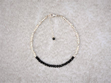 Load image into Gallery viewer, Black_onyx_Karen_hill_beaded_bracelet