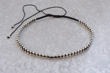 Load image into Gallery viewer, Choker_macrame_silver_necklace_for_women