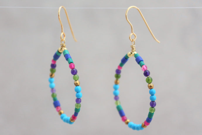 Colorful_natural_gemstones_hoop_earrings_for_women