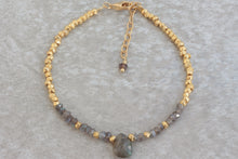 Load image into Gallery viewer, Gold_labradorite_beaded_bracelet_for_her