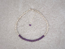 Load image into Gallery viewer, Delicate_beaded_bracelet_amethyst