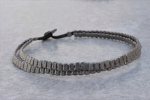 Load image into Gallery viewer, Stackable_metal_bracelet_black