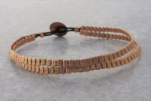 Load image into Gallery viewer, rose_gold_bracelet_Metal_hand_pressed