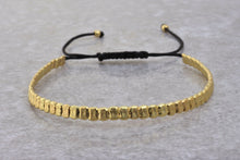 Load image into Gallery viewer, Gold_beaded_stackable_bracelet