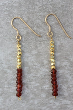 Load image into Gallery viewer, red_ruby_long_dangle_earrings_for_women