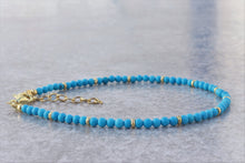 Load image into Gallery viewer, Turquoise beaded Jewelry Set