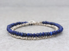 Load image into Gallery viewer, Lapis_lazuli_beaded_necklace_for_women_statement