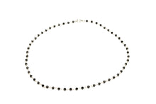 Load image into Gallery viewer, Black_onyx_rosary_beaded_necklace_for_women_silver