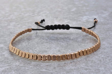 Load image into Gallery viewer, Rose_gold_dainty_beaded_brcelet_for_women