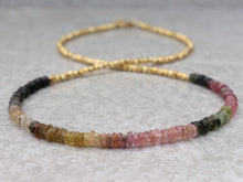 Load image into Gallery viewer, colorful_tourmaline_beaded_gold_necklace_for_women