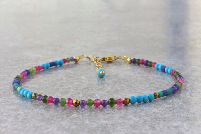 colorful_turquoise_beaded_bracelet