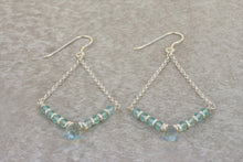 Load image into Gallery viewer, Aquamarine_dangle_earrings_silver