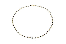 Load image into Gallery viewer, Black_onyx_rosary_beaded_necklace_for_women_gold