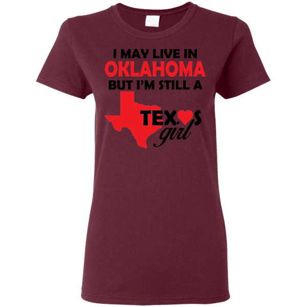 Still A Texas Girl Ladies Shirt