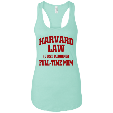 Harvard Law Mom Racerback Tank