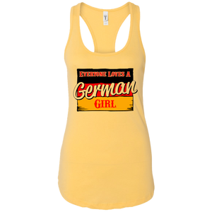 German Girl Racerback Tank