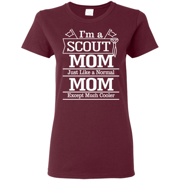 Scout Mom Ladies Shirt