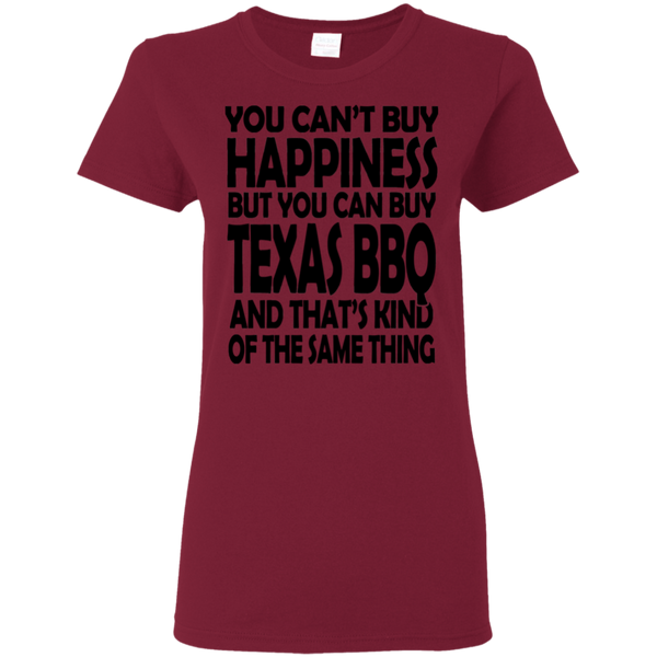Can't Buy Happiness Ladies Shirt