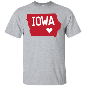 Home State Tshirt Iowa