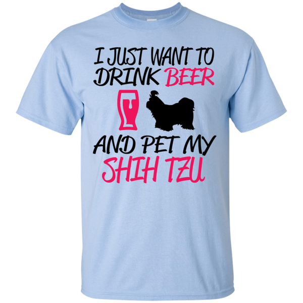 Drink Beer Pet Shih Tzu