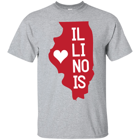 Home State Tshirt Illinois