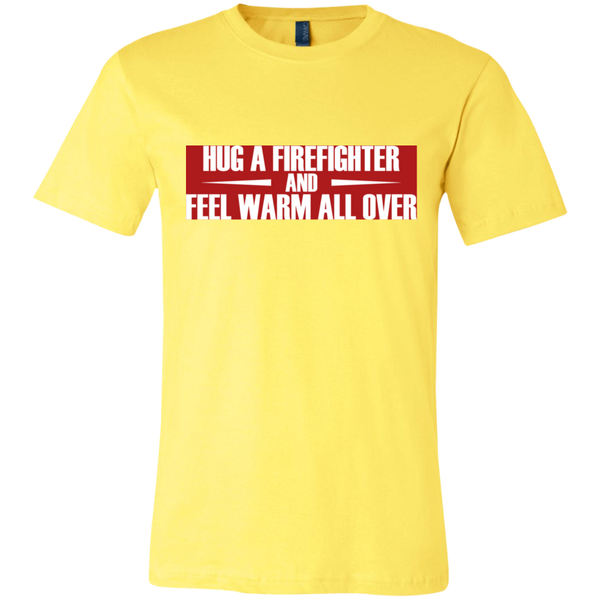 Hug a Firefighter Unisex Shirt