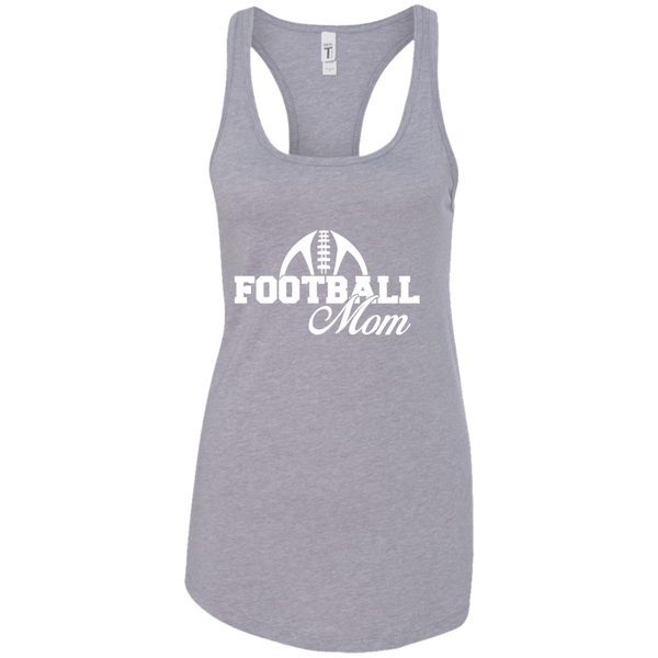 Football Mom Racerback Tank