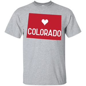 Home State Tshirt Colorado