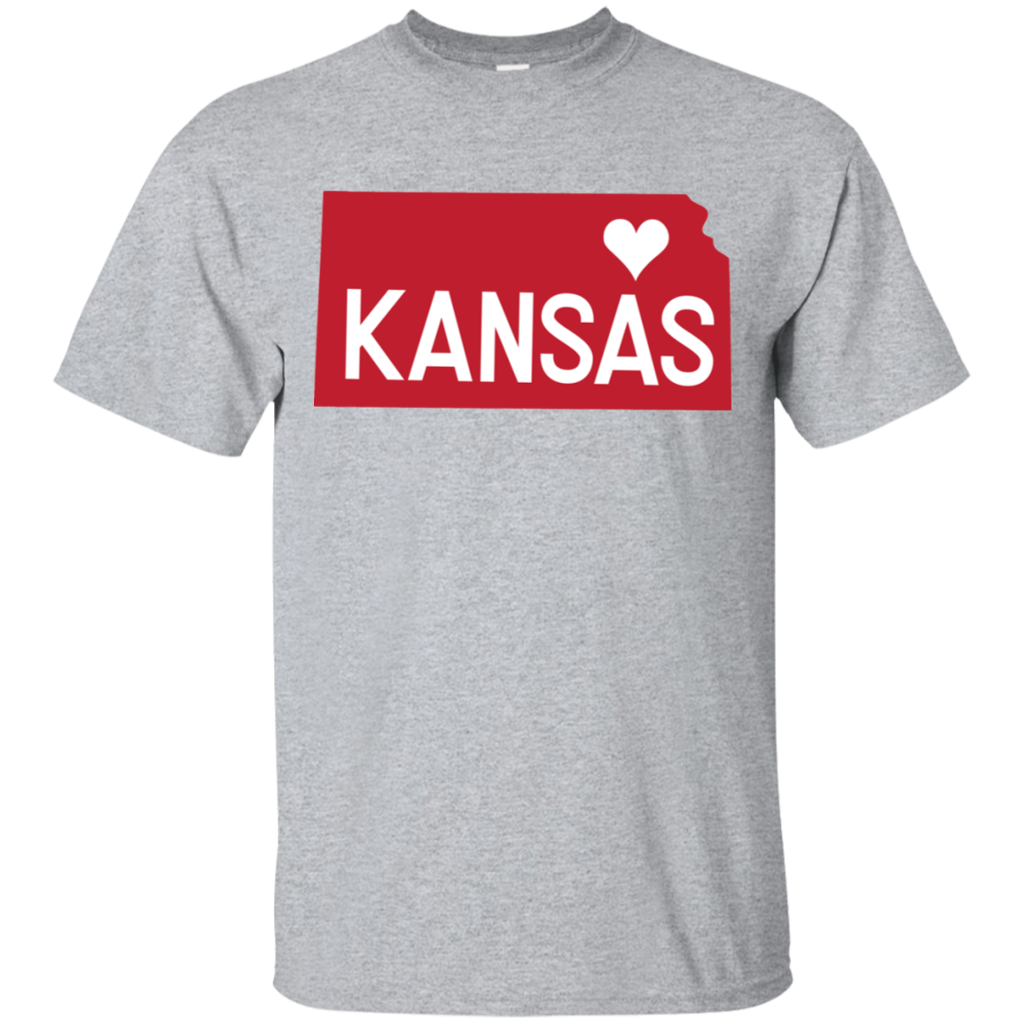 Home State Tshirt Kansas