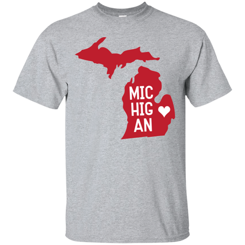 Home State Tshirt Michigan